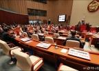 '홍준표 효과(?)' 빈자리 가득한 한국당 의총
