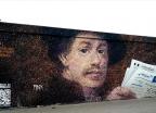 '비트코인 벽화'로 돈 버는 거리화가