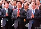 법요식 참석한 서울시장 후보들