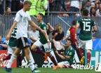 멕시코, '우승후보' 독일 꺾었다…16강 험난해진 韓