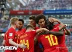 우승후보 벨기에-잉글랜드 첫 승…루카쿠·케인 '멀티골'