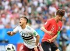 한국, 치차리토에 추가골 허용… 0-2