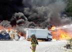울산 보온재 제조공장서 불…5억원 상당 재산피해