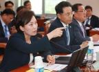 답변하는 김현미 국토부 장관