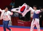 이다빈, 女 태권도 67kg 초과급 금메달…2연패
