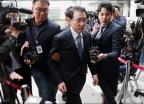 영장심사 받는 '채용비리 의혹' 조용병 회장