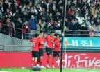 축구대표팀, 우루과이 상대 2대1 승리…정우영·황의조 골