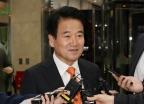 [사진]정동영 대표 '방북단 모임 갑니다'