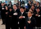 독립유공자 유해봉영식 참석한 이낙연 총리