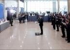'민춘기·김산해 애국지사 유해 봉영식'