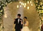 허민♥정인욱, 득녀 1년 만에 결혼식 올려