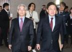 '최순실 사태, 한국당 분당' 책임 물었다…한국당 칼바람(종합)