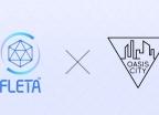 플레타-오아시스시티, 블록체인 프로젝트 발전 업무 협약