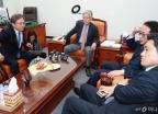법사위 간사 회동...'문형배·이미선 보고서 채택은?'