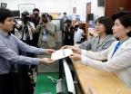 백혜련-추혜선, 국회의원 나경원 징계안 제출