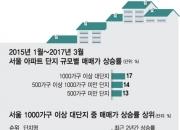 서울 아파트값 '대익부 소익빈' …단지규모 클수록 상승률도 高