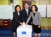 [꿀빵]안철수 후보 가족, 투표함 앞에서 '정지화면' 된 이유