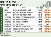 '중소도시는 구도심보단 신도시'…청약경쟁률 상위 10위권에 포진