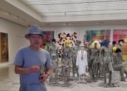 '기업가·컬렉터·미술작가' 아라리오 회장에게 시멘트는…