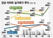 """""""한달새 1억↑"""" 강남 재건축, 과열 신호인가"""