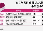 '규제 태풍' 피한 경기권에 '분양 소나기'