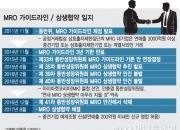[단독]3년째 표류 'MRO 상생협약' 극적 타결