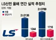 '체질 개선 중' LS산전, 올해 최대 영업이익 도전