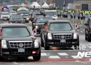 로켓공격도 견디는 트럼프 美대통령 전용차 '캐딜락 원'