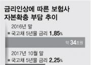 [단독]금리 상승으로 보험사 자본확충 부담 17조원 감소