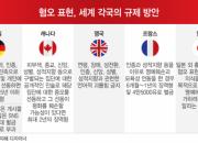 '혐오 표현' 안 지우면 650억 벌금…어느 나라?