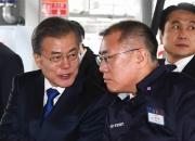 """""""사드극복"""" 정의선 현대차 부회장, 한달만에 다시 중국 충칭行"""