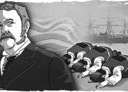 1883년 미국 대통령에게 큰절한 조선 사절단