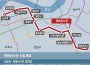 '수년째 불발' 위례신사선 경전철 사업 재개되나