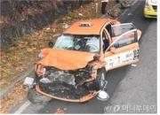 올림픽대로서 택시가 조경작업 노동자 덮쳐…2명 사망