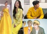 뷔·설리·한예슬…올 봄 ★ 사로잡은 '옐로 패션' 어때요?