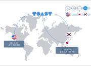 NHN엔터, '토스트' 일본 클라우드 서비스 개시
