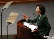 """文저격 나경원이 """"따왔다""""는 '김정은 대변인' 어디서 나왔나"""