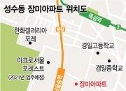 '서울숲' 성수동 장미아파트, 재건축 속도 낸다