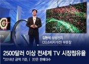 김현석의 선구안…세계 프리미엄 TV 2대 중 1대 '메이드 바이 삼성'