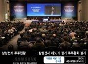 박재완 사외이사 반대 29%…삼성전자에 경고장 날린 외국인·기관