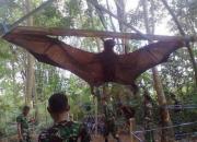 날개 펼치면 170cm…황금볏과일박쥐, '이걸' 먹는다?