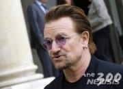 文대통령, 9일 록그룹 U2의 보컬 '보노'와 만난다
