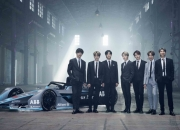 BTS, 세계 '전기차 레이싱 대회' 홍보모델 됐다