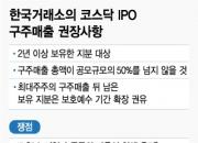 """[단독]거래소, 코스닥 구주매출 제한…""""책임경영"""" vs """"자율성 침해"""""""