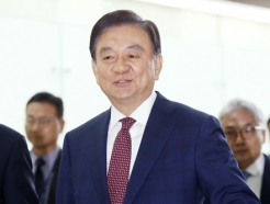 출국하는 홍석현 대미 특사