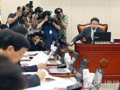 국방위, 송영무 장관 인사청문회 실시계획서 채택