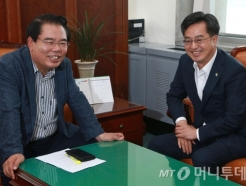 김동연 부총리, 백재현 예결위원장 예방