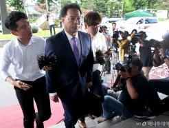 검찰 출석하는 이용주 국민의당 의원