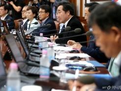 국무회의 참석한 총리와 국무위원들