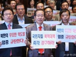 자유한국당 '북핵대책 강구하라!'